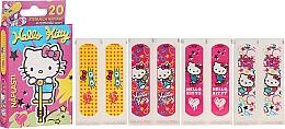 Парфюмерия и Козметика Защитни лепенки за деца - VitalCare Hello Kitty Kids Plasters
