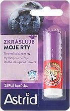 Парфюмерия и Козметика Балсам за устни - Astrid Lip Balm Bright Blueberry