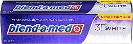 """Парфюмерия и Козметика Паста за зъби """"Триизмерно избелване"""" - Blend-a-med 3D White Toothpaste"""