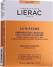 Парфюмерия и Козметика Хранителна добавка за тен на капсули - Lierac Sunissime Capsules
