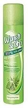 Парфюмерия и Козметика Сух шампоан за изтощена коса с екстракт от алое - Wash&Go