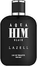 Парфюмерия и Козметика Aqua Him Black - Тоалетна вода
