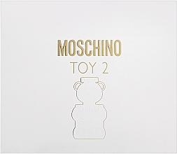 Moschino Toy 2 - Комплект (парф. вода/50ml + лосион за тяло/50ml + душ гел/50ml) — снимка N1