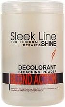Парфюми, Парфюмерия, козметика Изсветляващи микрогранули за коса - Stapiz Sleek Line Repair & Shine Blond Action
