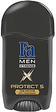 Парфюми, Парфюмерия, козметика Дезодорант стик - Fa Men Xtreme 5 Protect Stick