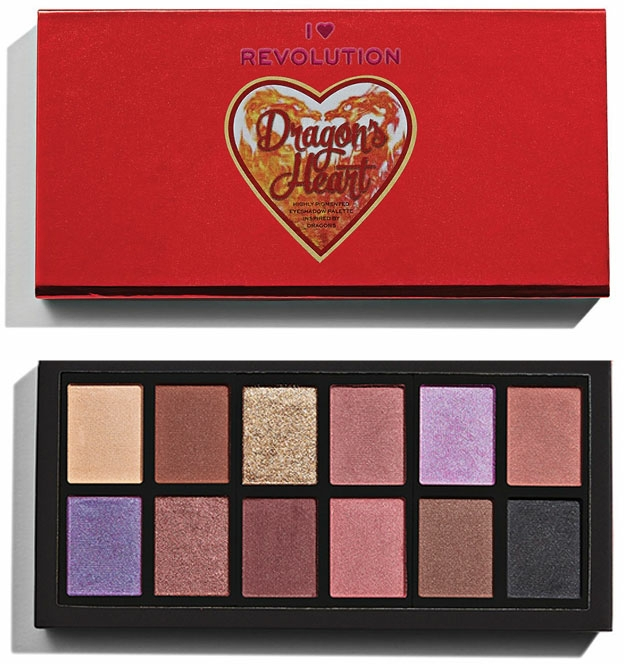 Палитра сенки за очи - I Heart Revolution Dragon's Heart Eyeshadows