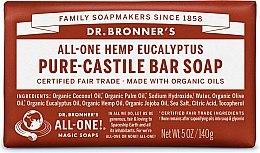 Парфюми, Парфюмерия, козметика Сапун с евкалипт - Dr. Bronner's Pure Castile Bar Soap Eucalyptus