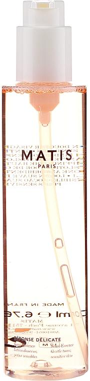 Тонер за почистване на грим с липа и шафран - Matis Reponse Delicate Sensi-Essence