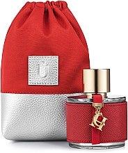 """Парфюмерия и Козметика Подаръчна чанта за парфюм, червена """"Perfume Dress"""" - MakeUp"""