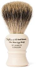 Парфюмерия и Козметика Четка за бръснене, P2233, бежова - Taylor of Old Bond Street Shaving Brush Pure Badger size S