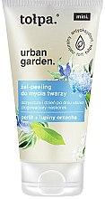 Парфюмерия и Козметика Измиващ гел-пилинг за лице - Tolpa Urban Garden Face Gel-Peeling Cleanser