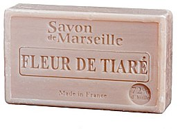"""Парфюмерия и Козметика Натурален сапун """"Цвете тиаре"""" - Le Chatelard 1802 Flowers Tiara Soap"""