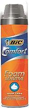 Парфюмерия и Козметика Пяна за бръснене - Bic Comfort Foam Sensitive