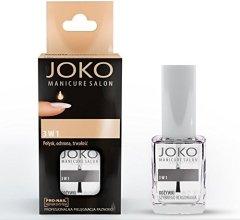 Парфюмерия и Козметика Балсам за нокти 3в1 - Joko Manicure Salon 3 in 1 Top