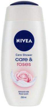 "Крем-душ гел ""Мляко и роза"" - Nivea Bath Care Cream Shower Rose And Milk — снимка N1"