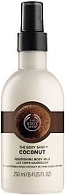 Парфюми, Парфюмерия, козметика Хидратиращо мляко за тяло с кокосово масло - The Body Shop Coconut Body Milk