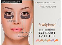 Парфюми, Парфюмерия, козметика Кремообразна контурираща палитра за лице - Bellapierre Cosmetics Color Correcting Concealer Palette