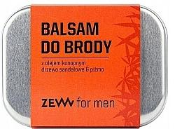 Парфюмерия и Козметика Балсам за брада с масло от коноп - Zew Beard Balm