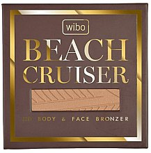 Парфюмерия и Козметика Бронзант за лице и тяло - Wibo Beach Cruiser Body&Face Bronzer
