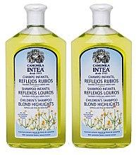 Парфюми, Парфюмерия, козметика Комплект шампоани за коса - Intea Children Camomile Shampoo (shm/2х250ml)