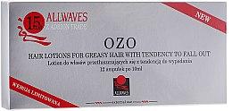 Парфюми, Парфюмерия, козметика Лосион-ампули за мазна коса, склонна към косопад - Allwaves Ozo Hair Lotions