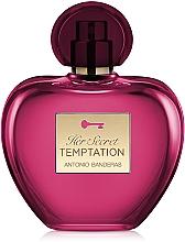 Парфюмерия и Козметика Antonio Banderas Her Secret Temptation - Тоалетна вода
