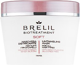 Парфюми, Парфюмерия, козметика Маска, улесняваща разресването - Brelil Bio Treatment Soft Untangling Mask