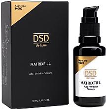 Парфюмерия и Козметика Антистареещ серум за лице - Simone DSD De Luxe Matrixfill Anti-wrinkle Serum