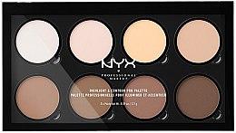 Парфюмерия и Козметика Палитра за контуриране - NYX Professional Makeup Highlight & Contour Pro Palette