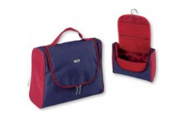 Парфюми, Парфюмерия, козметика Козметична пътна чанта 93258, синьо-червена - Top Choice