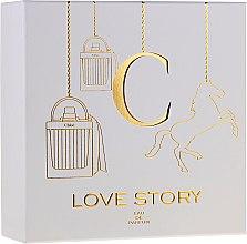 Парфюмерия и Козметика Chloe Love Story - Комплект (парф. вода/50ml + лосион за тяло/100ml)
