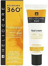 Парфюмерия и Козметика Слънцезащитен крем-флуид за всеки тип кожа - Cantabria Labs Heliocare 360º Fluid Cream SPF 50+ Sunscreen