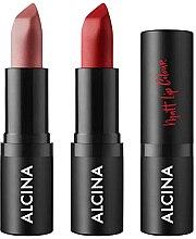 Парфюмерия и Козметика Матово червило за устни - Alcina Matt Lip Colour