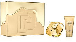 Парфюми, Парфюмерия, козметика Paco Rabanne Lady Million - Комплект (edp/50/ml+b/lot/75/ml)