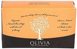 Парфюмерия и Козметика Сапун с маслина и мед - Olivia Beauty & The Olive Tree Natural Bar Soap With Olive Oil And Honey