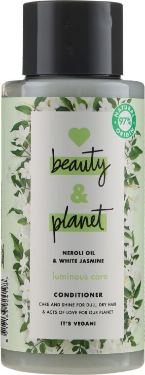 Балсам за коса с масло от нероли и бял жасмин - Love Beauty&Planet Neroli Oil & White Jasmine Conditioner — снимка N1