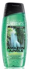 Парфюми, Парфюмерия, козметика Шампоан-душ гел за мъже - Avon Senses Amazon Jungle Hair And Body Wash