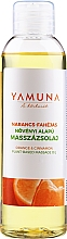 Парфюмерия и Козметика Масло за масаж с портокал и канела - Yamuna Orange-Cinnamon Plant Based Massage Oil