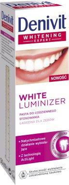 """Паста за зъби """"White Luminizer"""" - Denivit — снимка N1"""