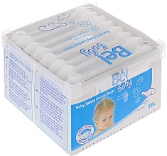 Парфюмерия и Козметика Детски клечки за уши, 56 бр - Bel Baby Safety Cotton Buds