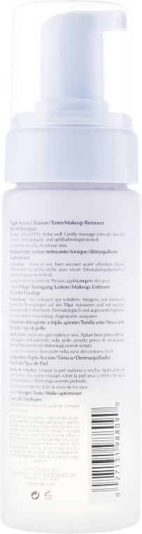 Универсален почистващ лосион за лице - Estee Lauder Perfectly Clean Triple-Action 3-in-1 — снимка N2