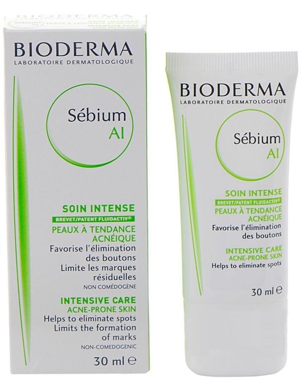 Успокояващ и овлажняващ крем - Bioderma Sebium AI Intensive Care — снимка N1