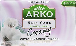 Парфюми, Парфюмерия, козметика Сапун - Arko Beauty Soap Creamy Cotton & Cream