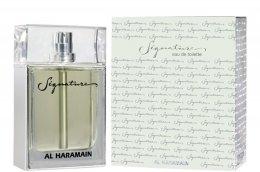 Парфюмерия и Козметика Al Haramain Signature - Тоалетна вода