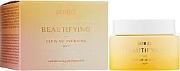 Парфюмерия и Козметика Хидратиращ крем за лице с масло от вечерна иглика - Petitfee&Koelf Beautifying Glow On Hydration