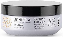Парфюмерия и Козметика Лепила за коса - Indola Innova Texture Soft Clay