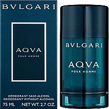 Bvlgari Aqva Pour Homme - Стик дезодорант  — снимка N2