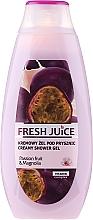 Парфюмерия и Козметика Душ гел-крем с екстракт от маракуя и магнолия - Fresh Juice Brazilian Carnival Passion Fruit & Magnolia