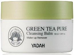 Парфюмерия и Козметика Почистващ балсам за лице със зелен чай - Yadah Green Tea Pure Cleansing Balm