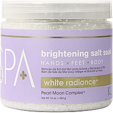 Парфюмерия и Козметика Морска сол - BCL Spa White Radiance Brightening Salt Soak